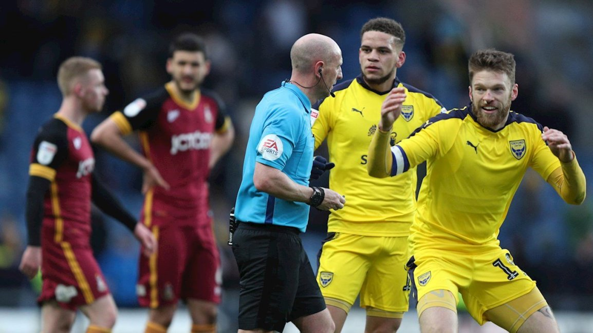 The wrap: Oxford United 1 Bradford City 0