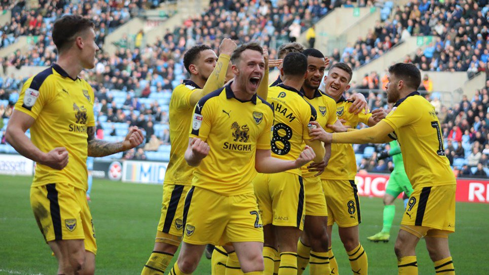 The wrap: Coventry City 0 Oxford United 1